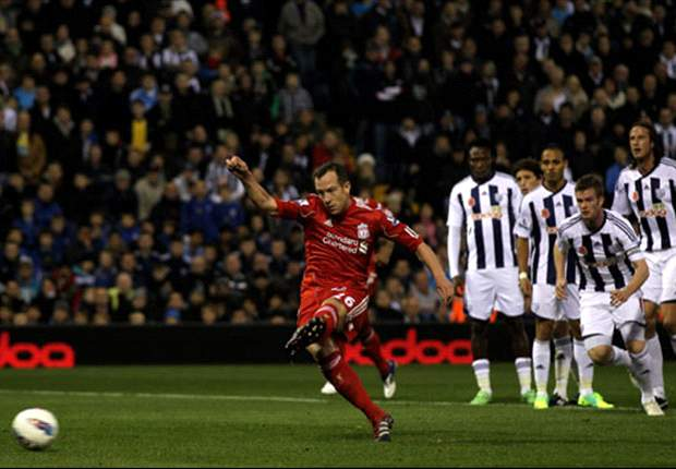West Brom 0-2 Liverpool: Charlie Adam & Andy Carroll move Reds to within one point of third after routine away win