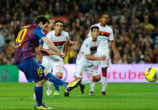 Barcelona 5-0 Mallorca: Messi hits hat-trick & Cuenca scores first senior goal as champions claim resounding win
