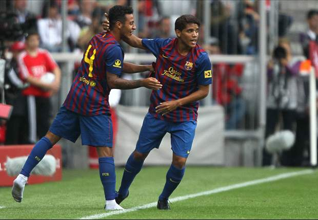 Dos Santos confident Vilanova will continue to promote youth at Barcelona