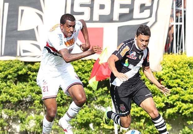 Eder Luis e Fellipe Bastos não sabem se continuam no Vasco