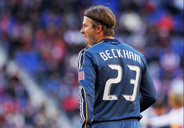 New York Red Bulls 0-1 Los Angeles Galaxy: David Beckham sets up game-winner in heated contest