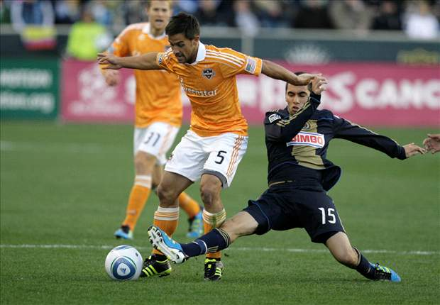 Philadelphia Union 1-2 Houston Dynamo: Tempers flare as Dynamo hold on to ruin Union's first-ever playoff game