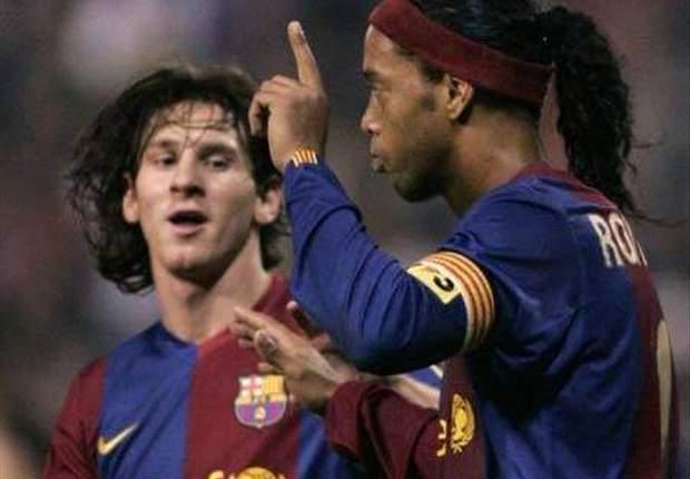 Fanview: Ronaldinho a better player than Messi?