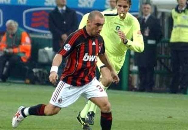Cristian Brocchi ai tempi del Milan