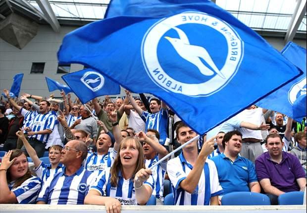 Brighton and Hove Albion fans want the FA to stamp out homophobia