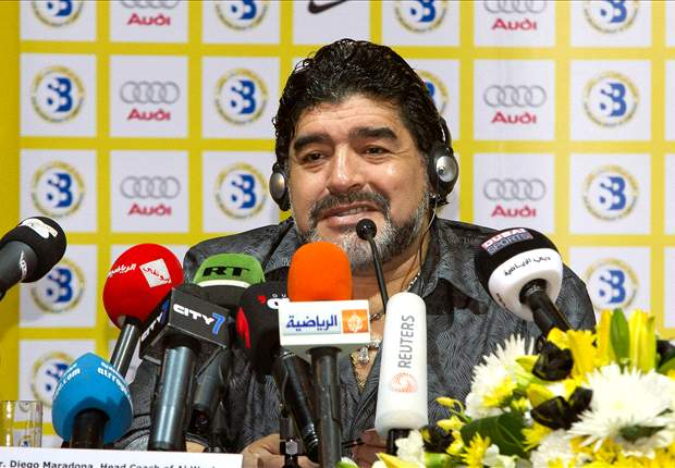 Maradona: UAE will have a 'very tough time' at 2012 London Olympics