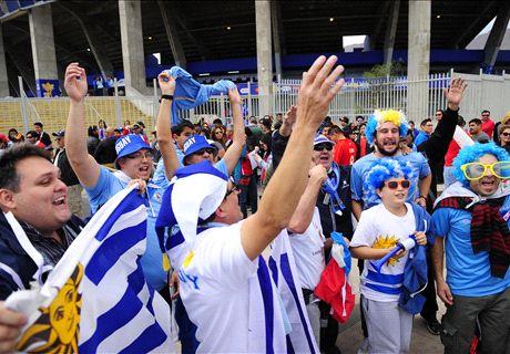 LIVE: Uruguay Vs Brasil