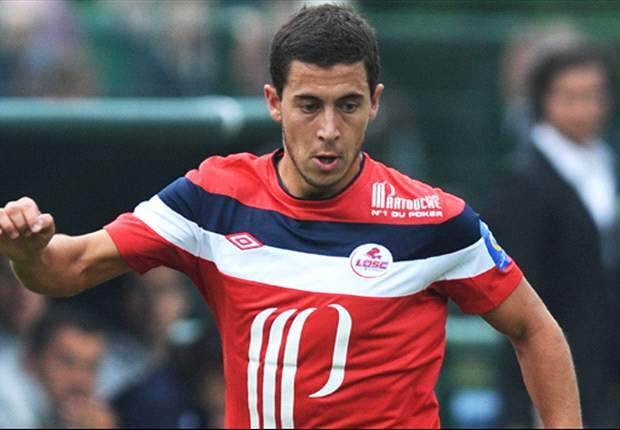 Lille's Eden Hazard: Real Madrid has not yet approached me