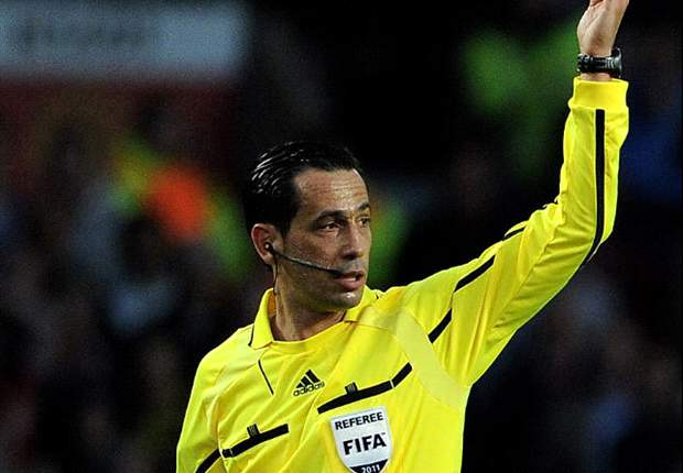 Portugal's battle-hardened authoritarian - Euro 2012 referee Pedro Proenca