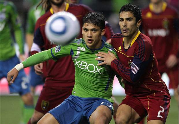 Seattle Sounders FC 2-0 (2-3 agg.) Real Salt Lake: RSL advances on aggregate despite pulsating second leg loss