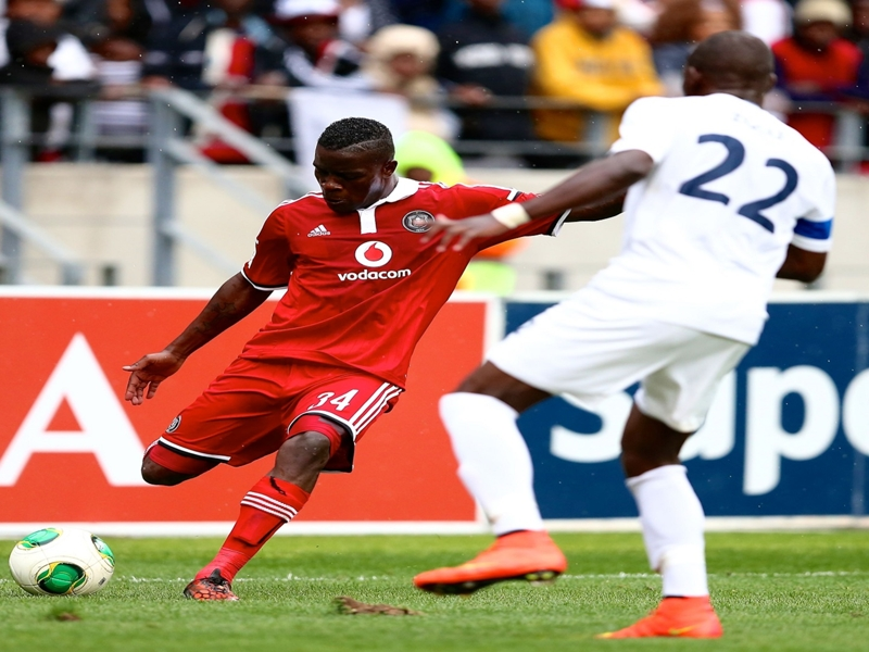Nyauza not worried about possibly losing his Bafana Bafana place