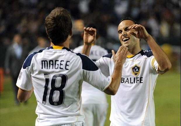 Colorado Rapids 1-2 LA Galaxy: Josh Saunders saves late penalty to salvage road win