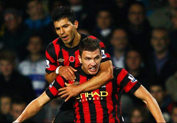 Edin Dzeko believes QPR are the best team Manchester City have played away from home this season after dramatic 3-2 win