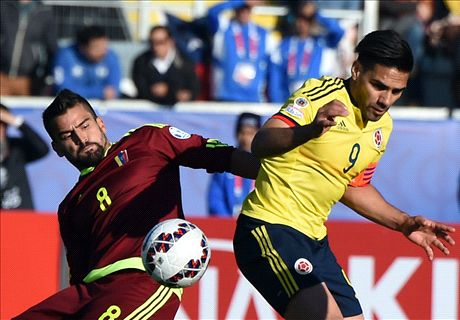 Falcao flops in Colombia defeat