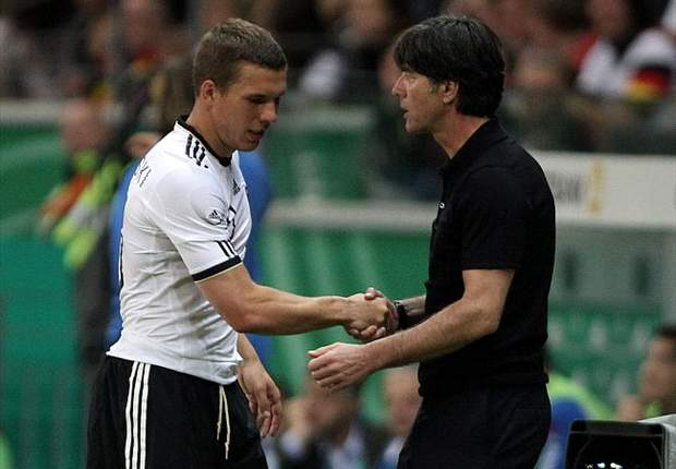 'Lukas Podolski is capable of moving abroad,' says Germany coach Joachim Low