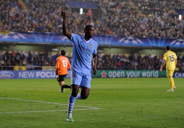 Yaya Toure 'suffering' by missing FA Cup clash between Manchester City and Manchester United