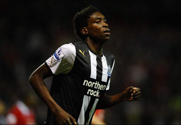 Newcastle United's Sammy Ameobi ruled out for a 'number of months' due to injury