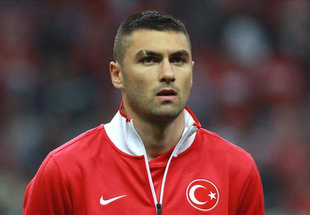 Atletico Madrid winger Arda Turan urges club to bid for Trabzonspor's Burak Yilmaz