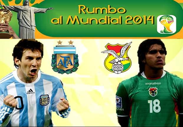 Argentinien hat gegen Bolivien zuhause noch nie verloren