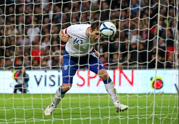 England 1-0 Spain: Frank Lampard scores only goal as world and European champions are kept out at Wembley