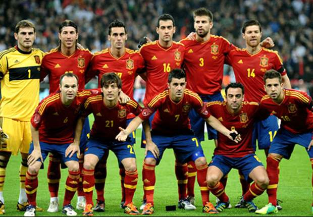 Spain remain top in Fifa World Ranking as Netherlands drop to fourth