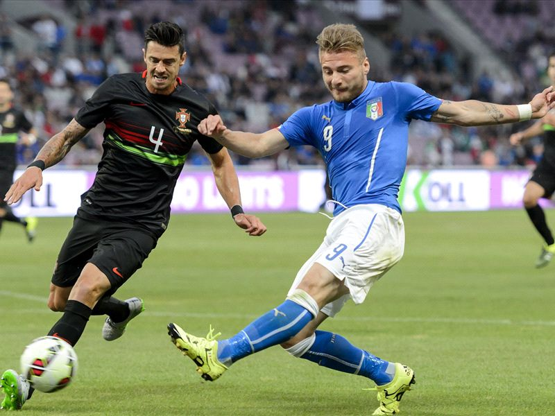 Ciro Immobile Jose Fonte Italy Portugal international friendly 06162015