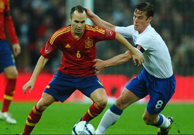 England the big winners after Euro 2012 draw with bookies as Spain remain favourites