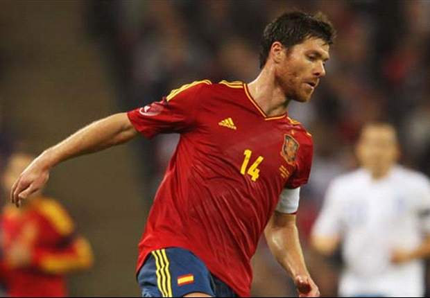 Xabi Alonso staying positive after Spain's draw with Italy