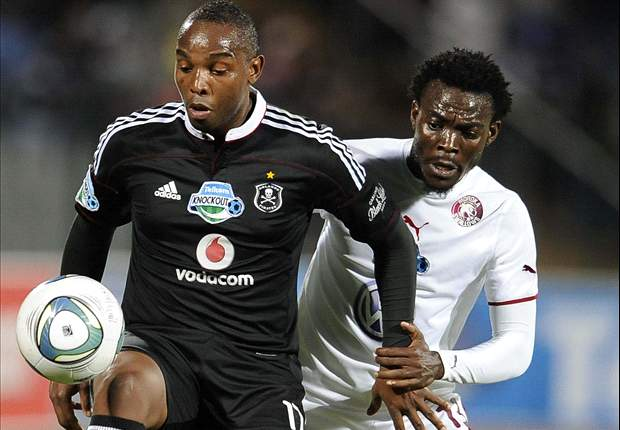 Orlando Pirates' Benni McCarthy is one week away from full recovery