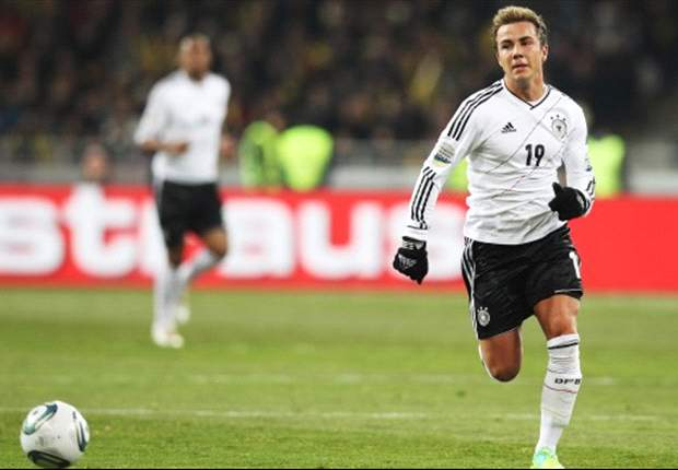 Mario Goetze Incar Skuad Utama Jerman