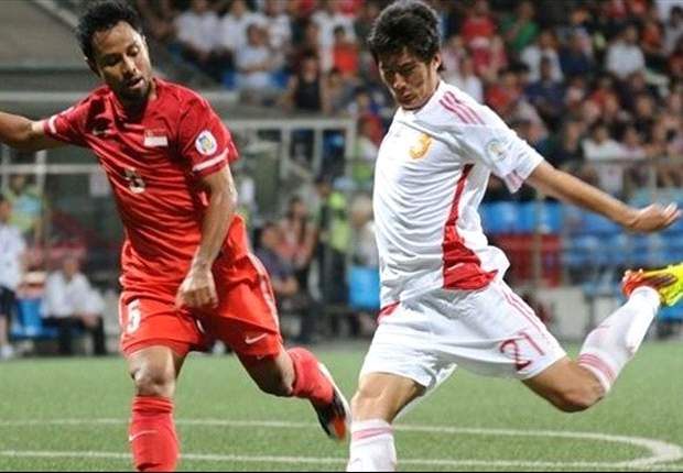 Singapore 0-4 China: Hosts remain rooted to the bottom of Group A after trouncing