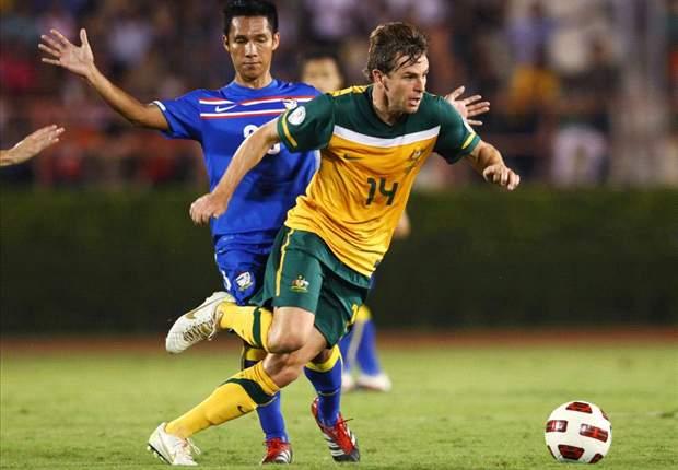 Thailand 0-1 Australia: Brett Holman Goal Seals Passage Into Fourth Round Of World Cup Qualifying