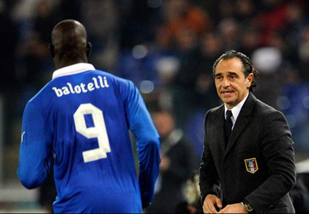 Prandelli confirms Balotelli will be recalled for Euro 2012