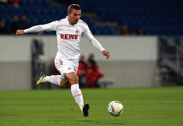 Agent of Koln's Lukas Podolski refuses to comment on Lazio link