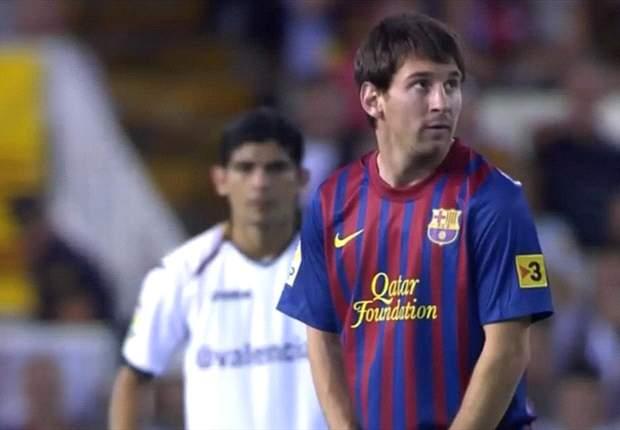 TEAM NEWS: Lionel Messi Starts For Barcelona Against Zaragoza, But David Villa Is Left Out Once More
