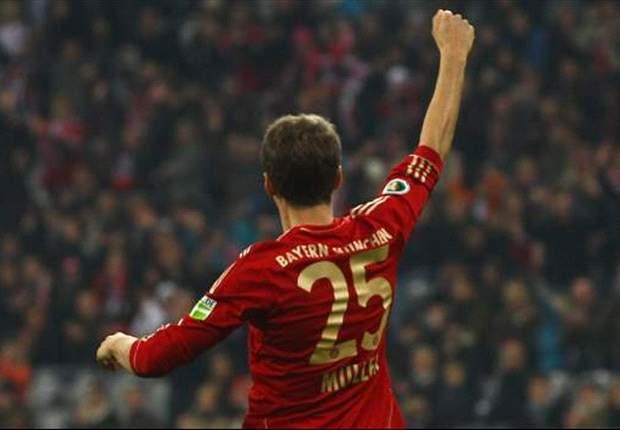 Muller: Bayern Munich will respect Borussia Dortmund