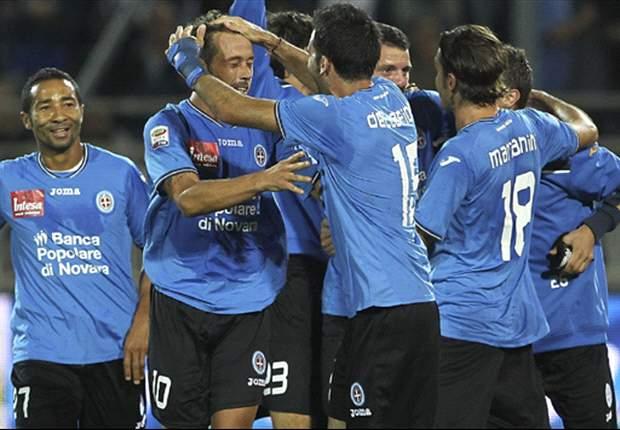 Serie B, 3ª - Super Bari e Sassuolo, Novara travolgente a Cesena, lo Spezia tiene il passo delle prime. Crotone in rimonta, Pro Vercelli k.o