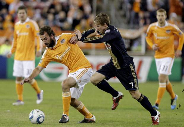 10-man Houston Dynamo steal 1-1 draw at Olimpia
