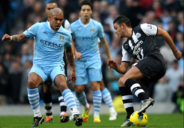 Manchester City 3-1 Newcastle: Balotelli & Aguero Both Score Penalties To End Visitors' Unbeaten Record