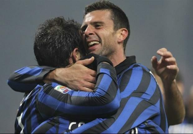 Inter 2-1 Cagliari: Motta and Coutinho fire Ranieri's men to victory