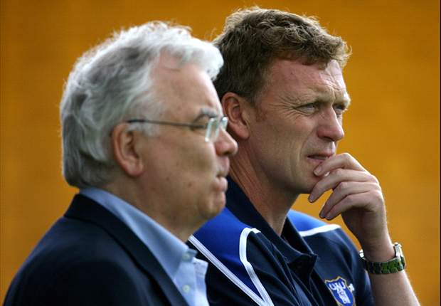 Everton chairman Kenwright hopeful that Moyes will stay