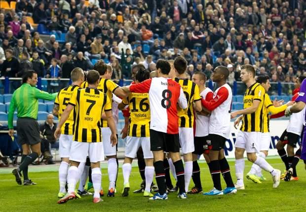 Vitesse begroet Theo tegen Feyenoord