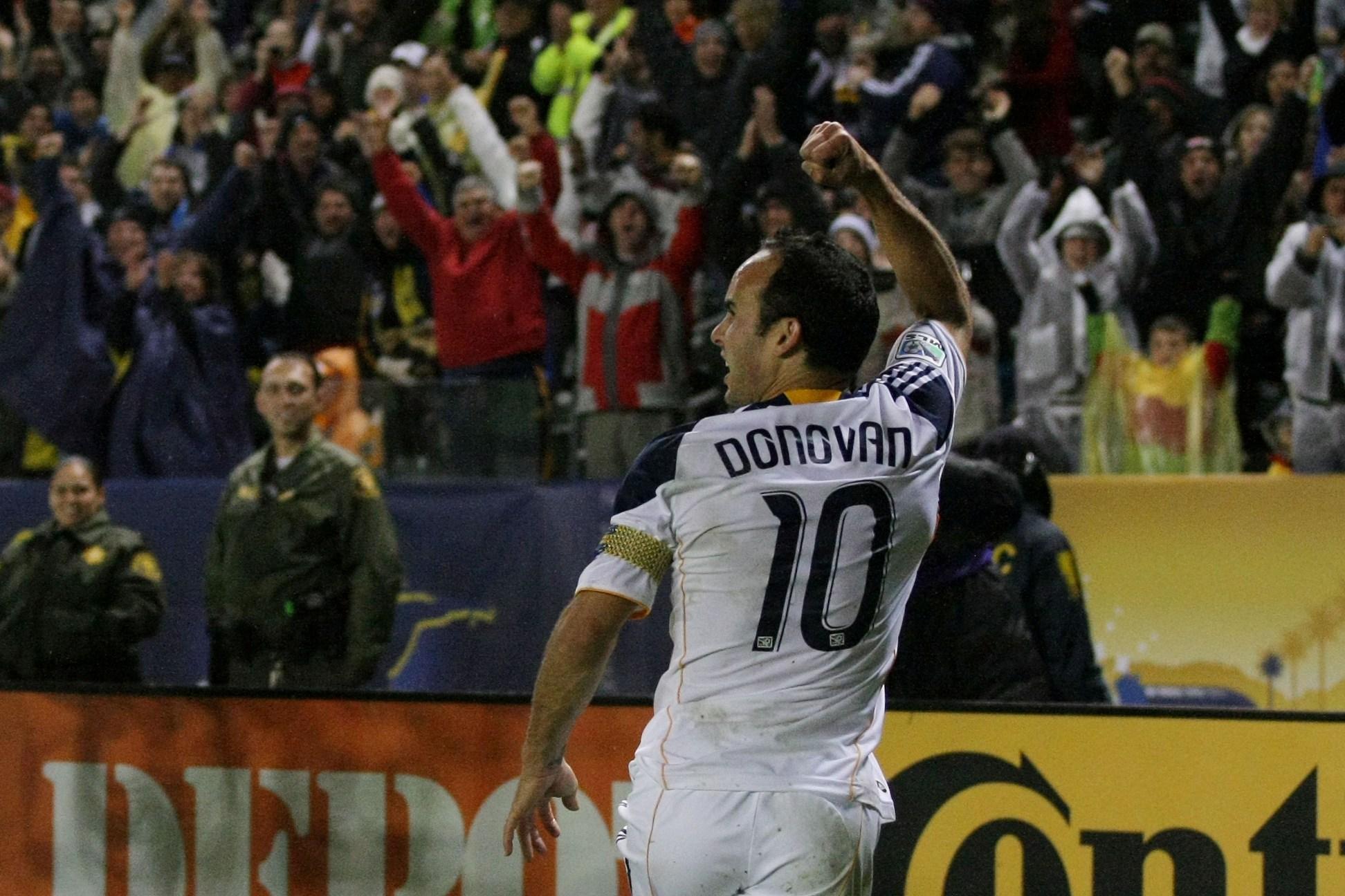 Landon Donovan's Best MLS Goals