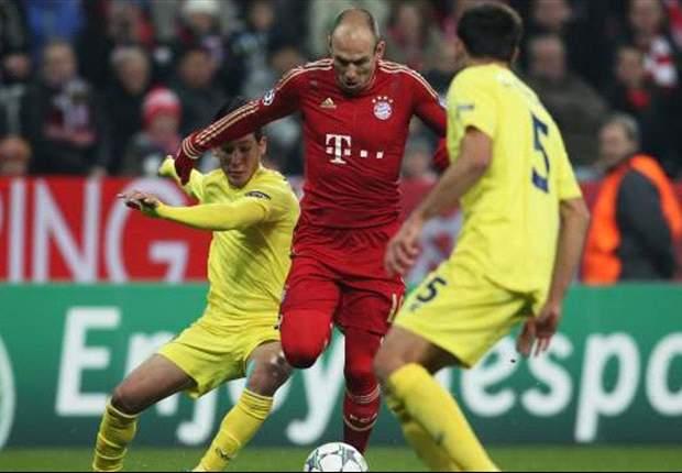 Champions: El Bayern no tuvo piedad de un Villarreal que se fue a pique (3-1)