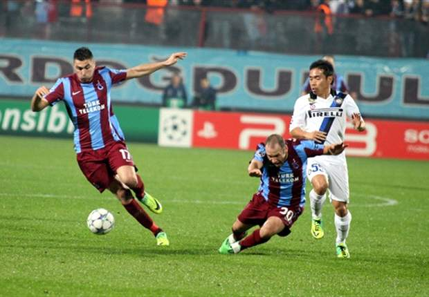 Trabzonspor 1-1 Inter: Italians clinch top spot in Group B courtesy of hard-earned draw in Turkey