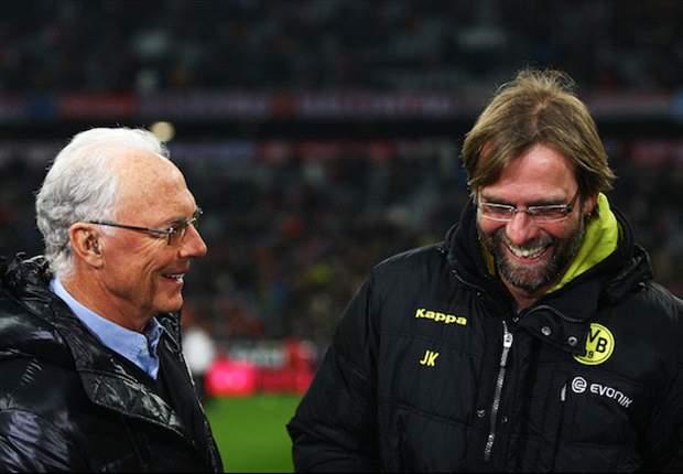 Beckenbauer hoopt op duel met Dortmund