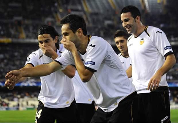 Rayo Vallecano 1-2 Valencia: Jonas and Tino Costa strike in slender win for Unai Emery's side