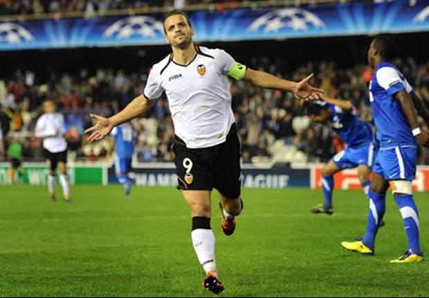 El Nápoles pregunta al Valencia por Roberto Soldado