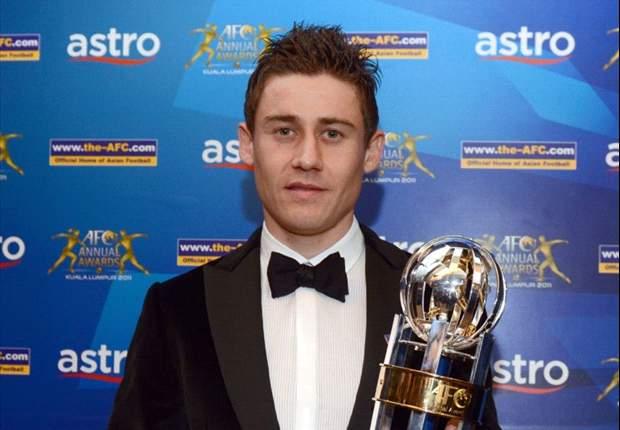 Uzbekistan's Server Djeparov wins AFC Player of the Year award