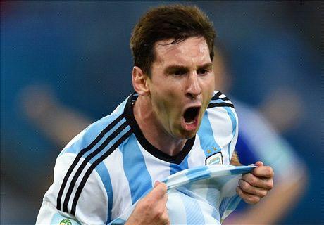 Van Gaal: Messi? I like him